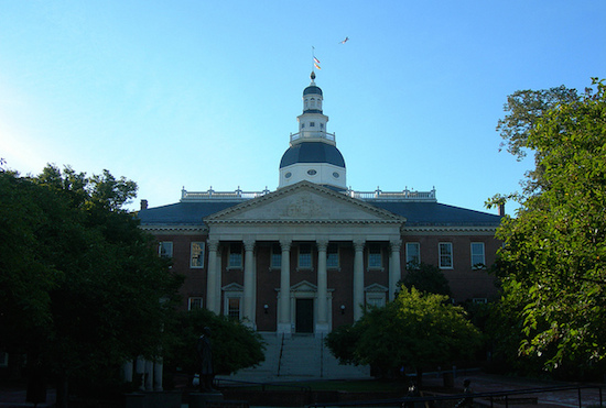 Maryland Capitol in Annapolis