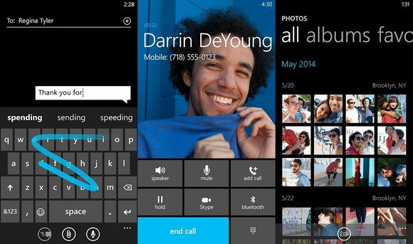 windows 8 phone cortana